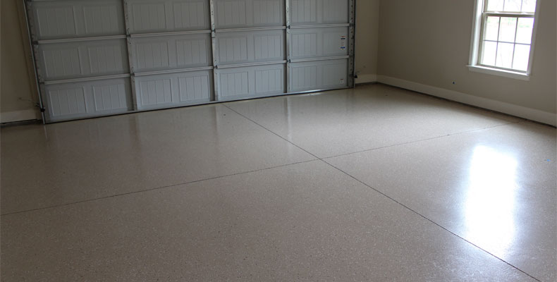 New Garage Flooring